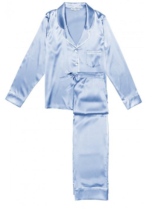 Beatrice Uzun Ipek Pijama Takımı
